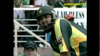 PAKISTAN VS IRELAND 2007 WORLD CUP, PAKISTAN INNING