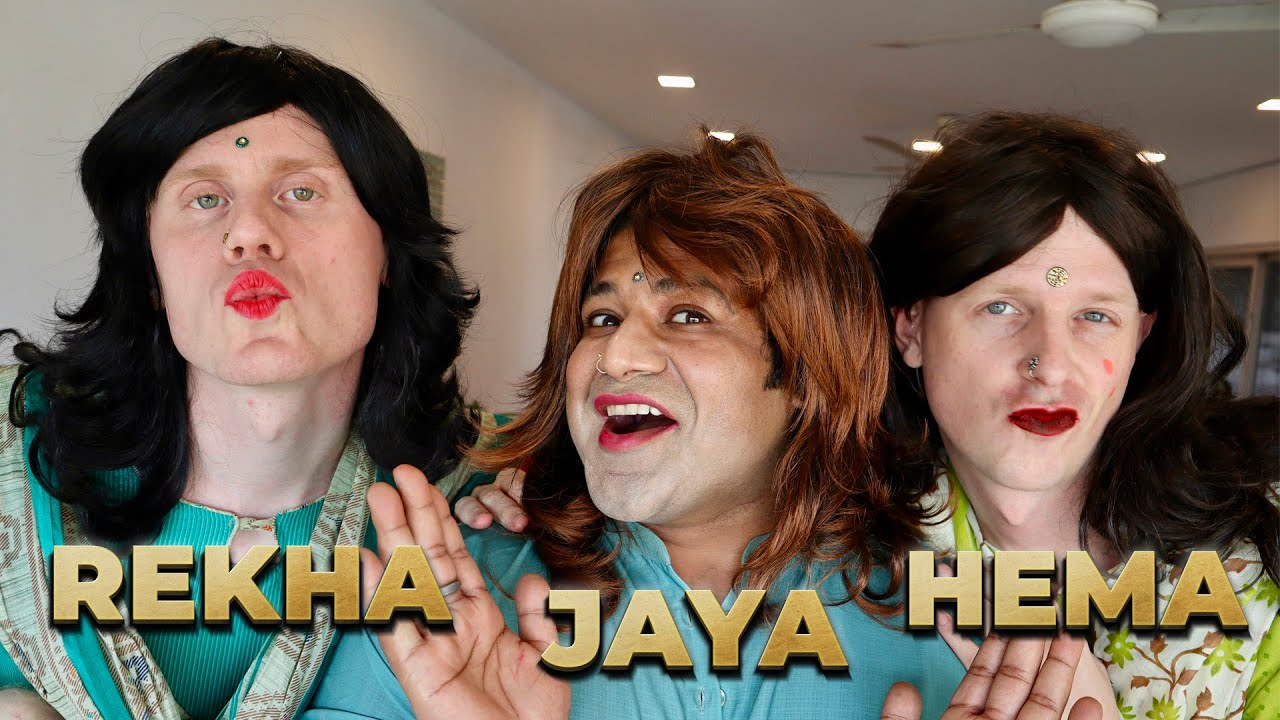 HEMA, REKHA & JAYA Aur Unki Dosti - PART 1 | 2 Foreigners In Bollywood