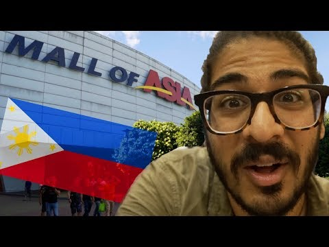 FILIPINO MALLS ARE INSANE! - Mall Of Asia, Metro Manila The Philippines