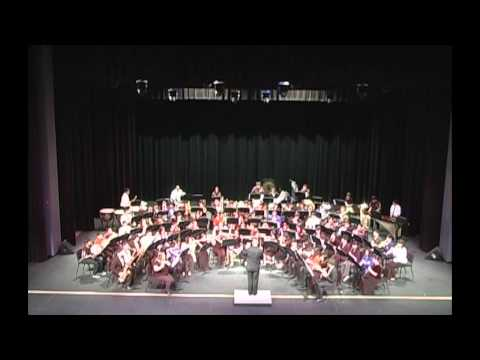 The Great Locomotive Chase-Middle School All-Region Honors band