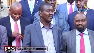 Governor Mandago directs all Nairobi-Eldoret PSVs to be sanitized