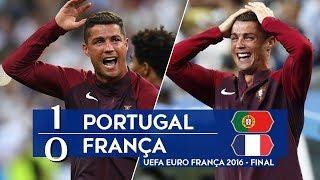 Португалия Франция 1 0 Обзор Матча Финал Чемпионата Европы 10 07 2016 UHD 4K