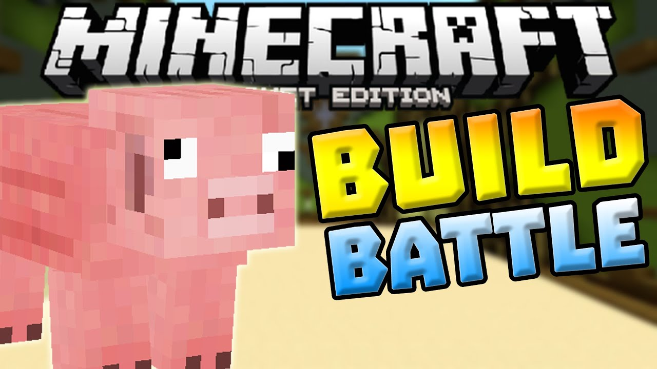how to get build battle on minecraft pe