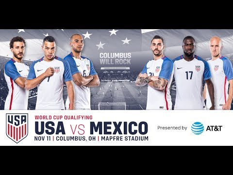 USA VS. MEXICO soccer (Futbal) game