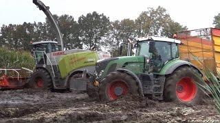 Extreme Modder   Claas Jaguar 950   Mud   Blankespoor   Ederveen   Nederland   Mais   2014   Maize.