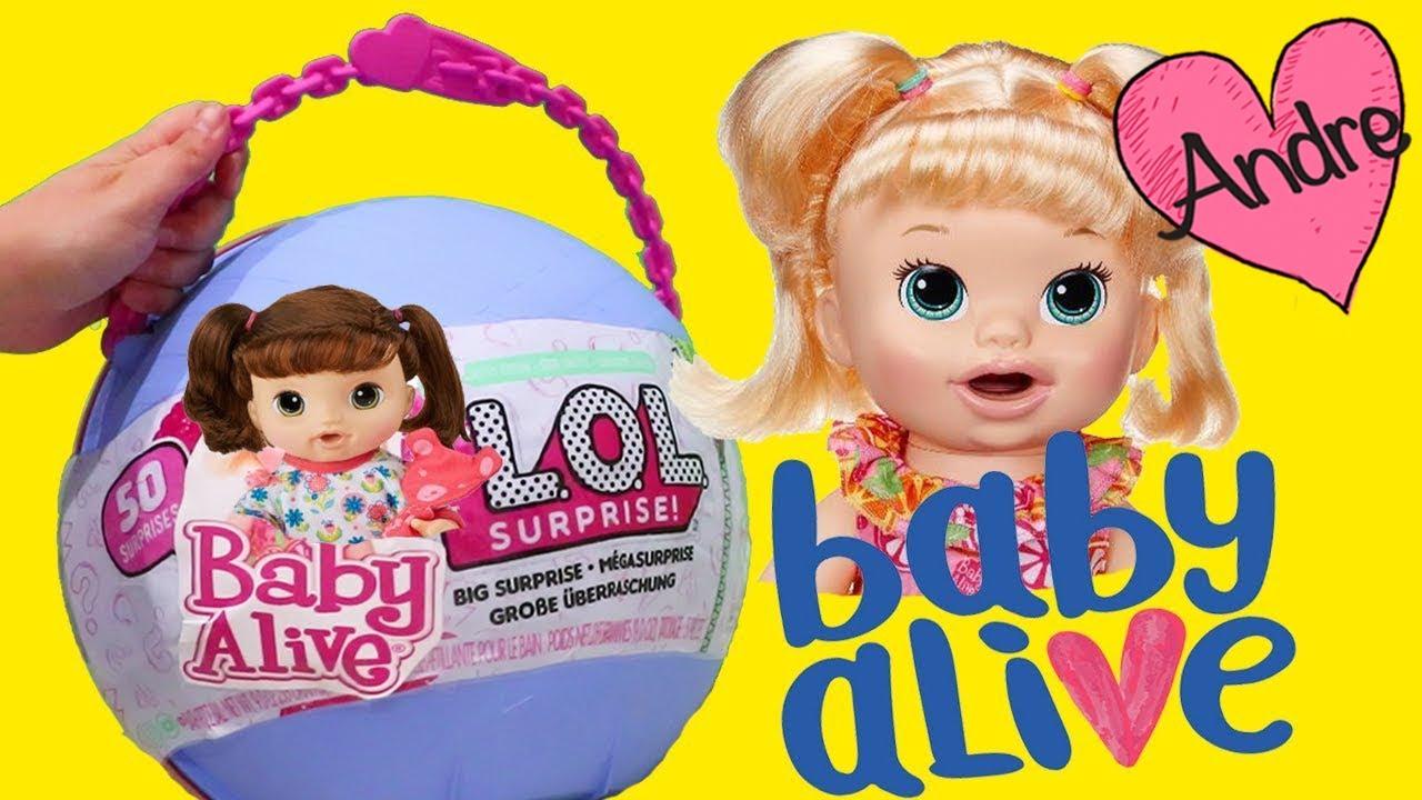La Mu 241 Eca Baby Alive Sara En Lol Big Surprise Juguetes