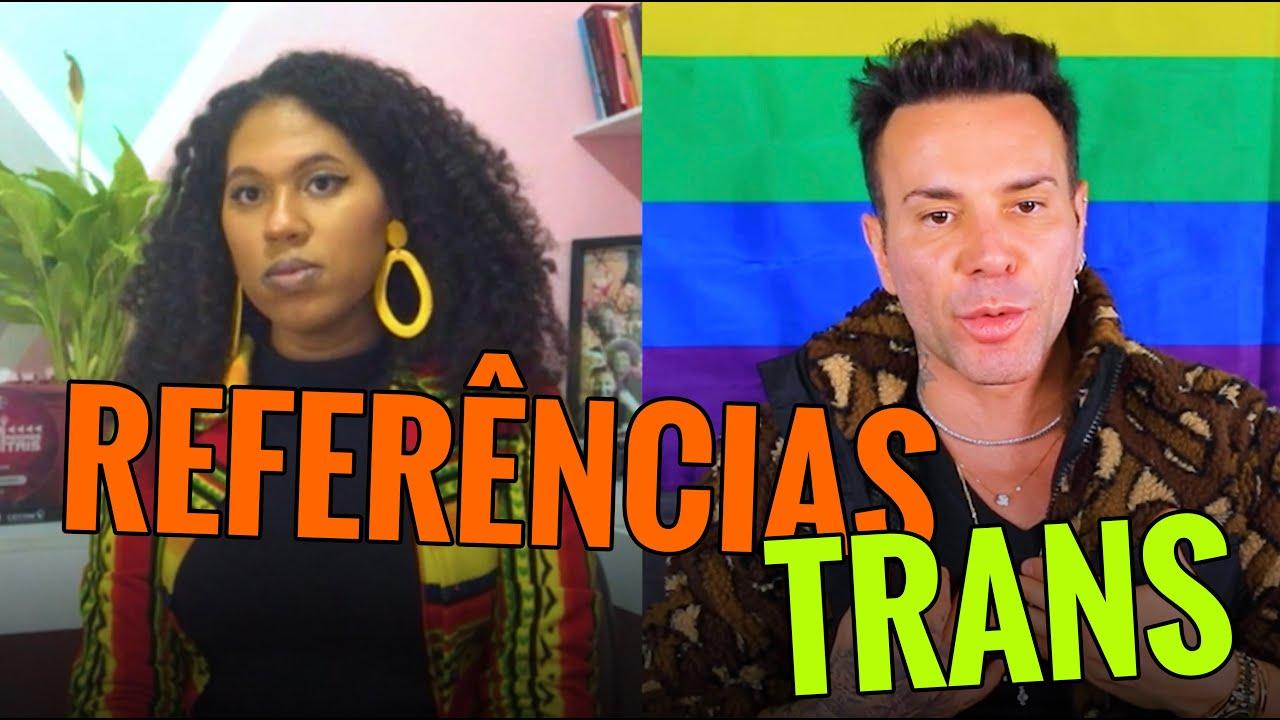REFERÊNCIAS DE TRANS PRETAS!!! | #MatheusMazzafera