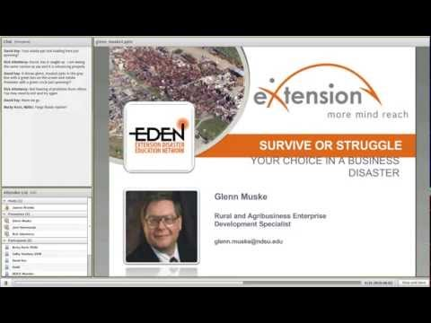 Survive or Struggle: Your Choice in a Business Disaster