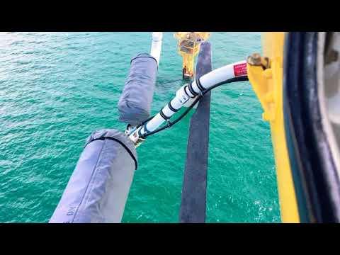 Offshore platform landing