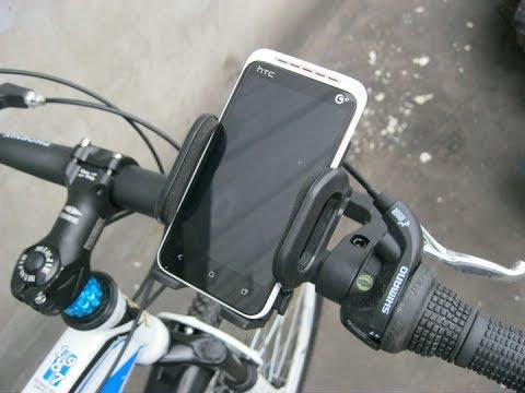 Как сделать держатель телефона на велосипед своими руками