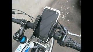 СДЕЛАЙ САМ! как сделать крепление для телефона на велосипед или штатив!