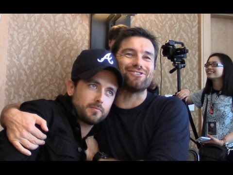 American Gothic - Justin Chatwin, Antony Starr Interview (Co