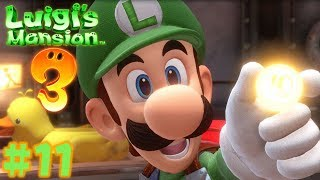 Luigi's Mansion 3 - Walkthrough Part 11: The Boilerworks Mechanic Ghost Gameplay
