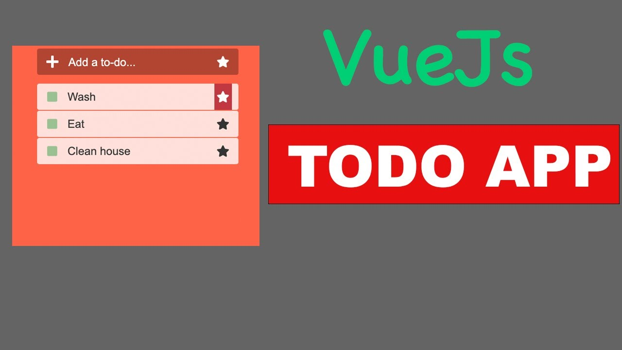 Vuejs - Build Basic TODO App With Nice Animation