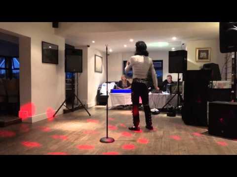 Michael Jackson Impersonator Rory J Heartbreak Hotel Live