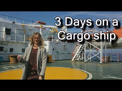 3 days on a cargo ship: freighter ship travel story - our journey from Georgia to Bulgaria 화물선 여행