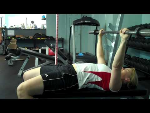Ottawa personal training: Not optimal arm span for bench press