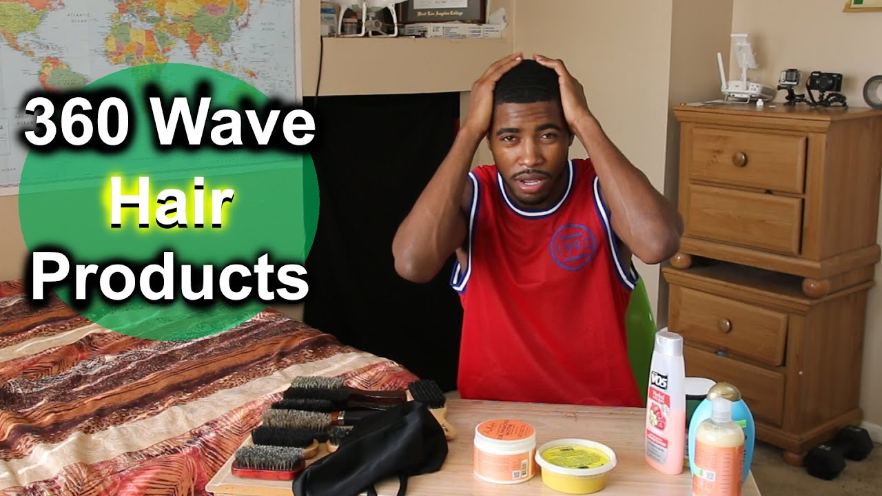360 Waves For Beginners  Hair Product Basics