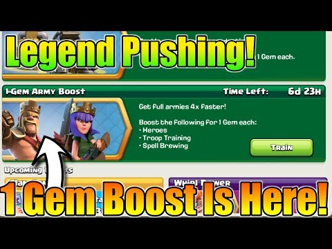 1 Gem Army Boost Is Here😍Legend Push With This Event😎