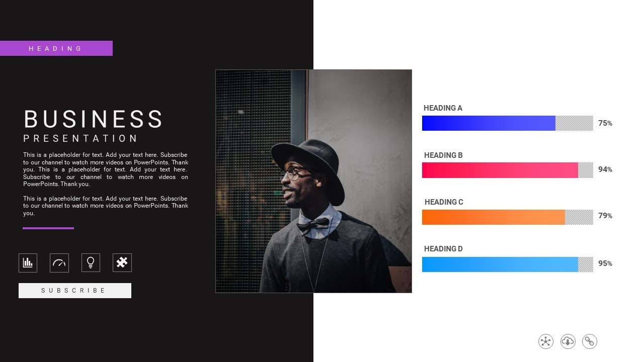 how to create a business presentation slide like a pro in microsoft