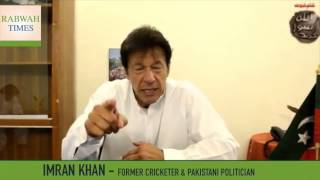 Imran Khan responds to allegations he supports Ahmadiyya Muslims