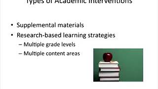Effective Strategies for Literacy RTI  (with Cara...