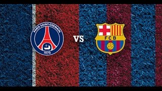 PSG vs FC Barcelona 15.04.2015 • CHAMPIONS LEAGUE Promo / Trailer