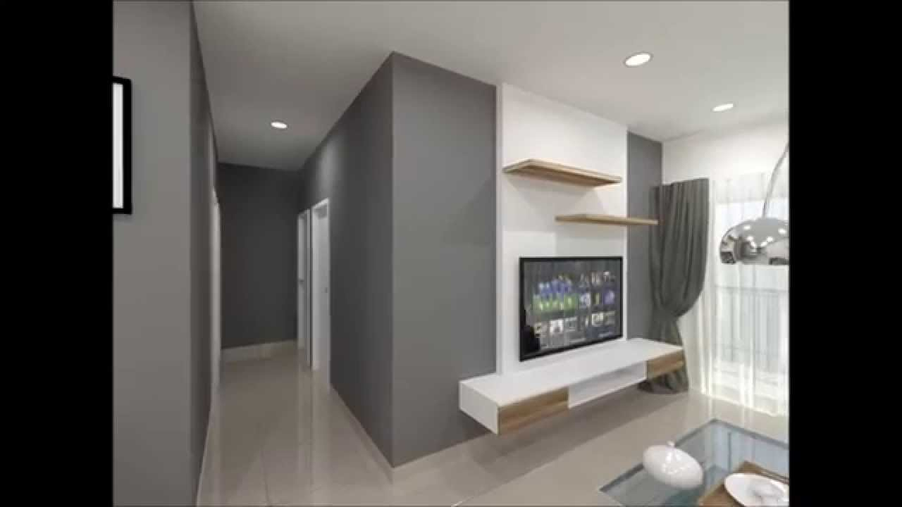 reka bentuk hiasan dalaman teres home interior design services OUG Parklane Apartment 3D Interior Design Walkthrough