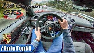 Porsche 718 Cayman GTS chasing 911 Targa GTS | POV Test Drive by AutoTopNL