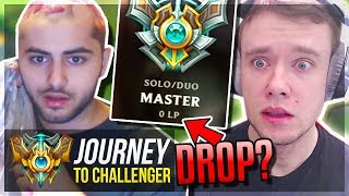 MOE TRIES TO BOOST ME BUT.. DUO w/ YASSUO - Journey To Challenger League of Legends