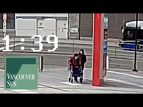 Surveillance video: Elderly woman tripped up in Burnaby | Vancouver Sun