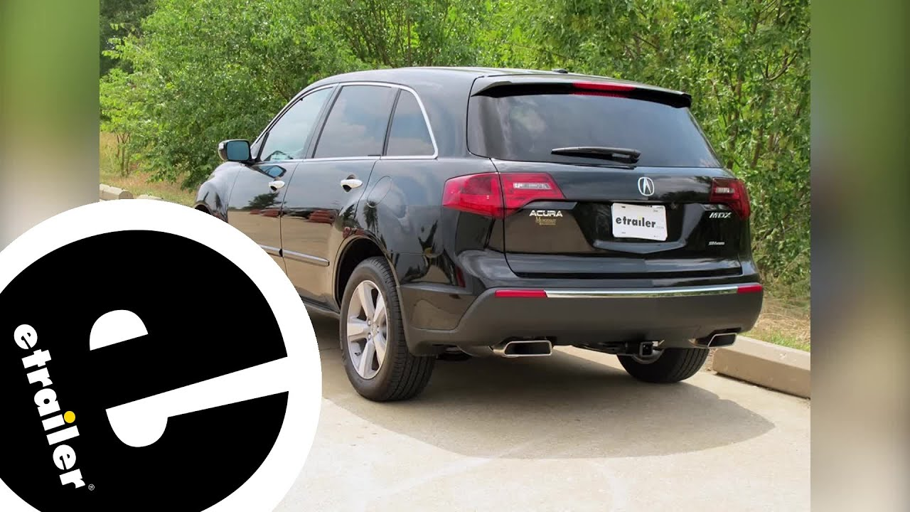 Best Acura MDX Hitch Options Etrailercom YouTube - 2018 acura mdx hitch