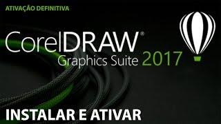 Baixar instalar e ativar Coreldraw 2017 - Ativação Definitiva