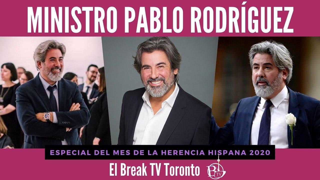 MINISTRO PABLO RODRÍGUEZ