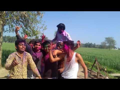 Enjoying Holi