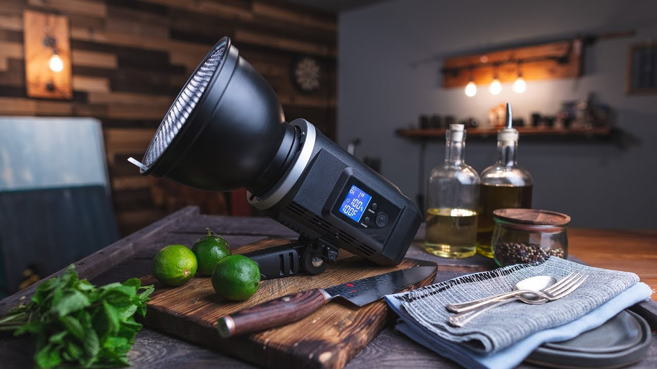 NEXT LEVEL Constant Light For FOOD PHOTOGRAPHY - Godox SLB60 - YouTube