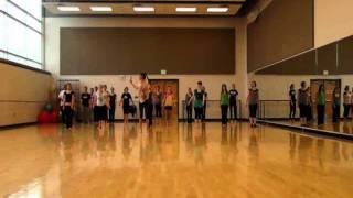 BYU-I Modern Dance across the floor