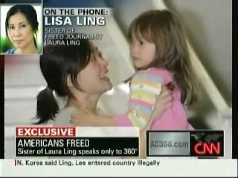 Interview with Lisa Ling, Sister of Laura Ling (Part 1 of 2)
