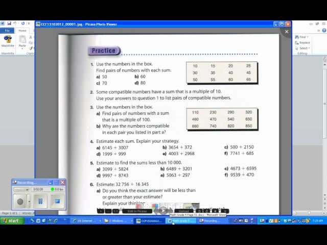 Math Makes Sense Grade 7 Practice And Homework Book math makes – Math Makes Sense 7 Worksheets
