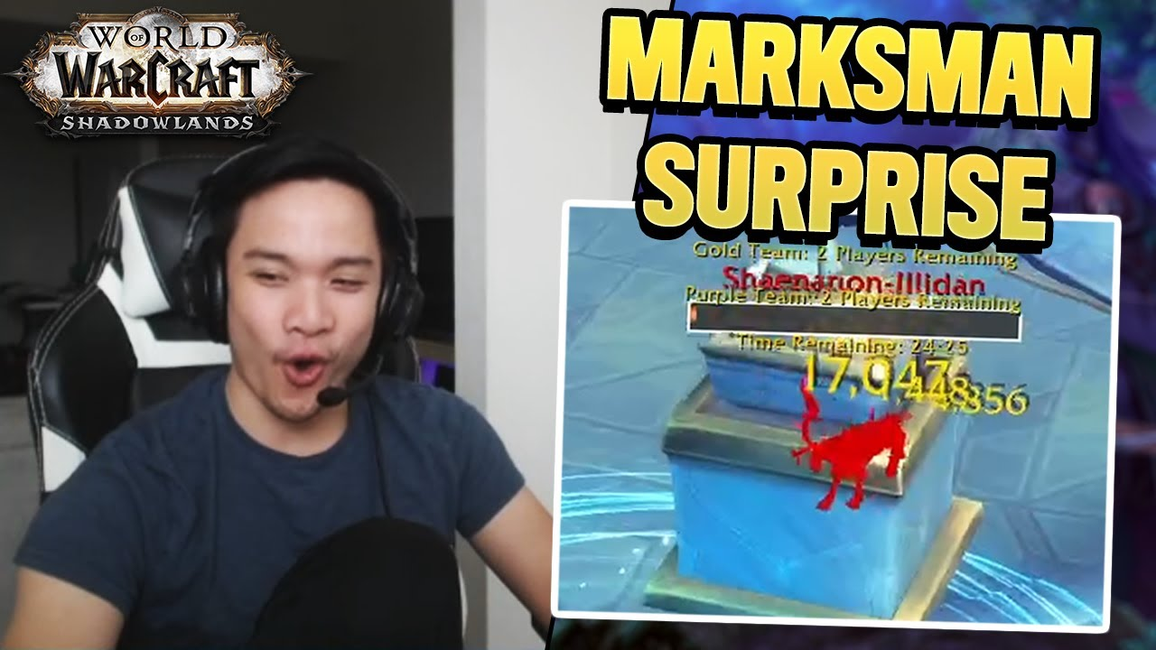 NOT EVEN JELLY EXPECTS THE DAMAGE?! More marksman games! | Jellybeans Highlights