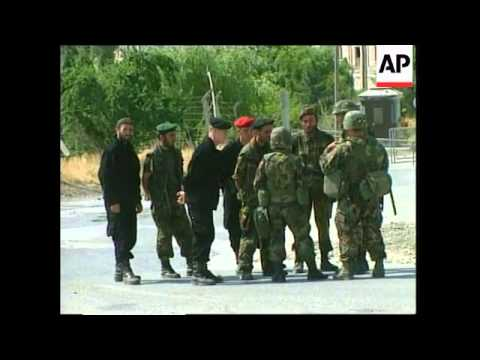 KOSOVO: US NATO TROOPS HEAD FOR PRISINA