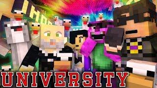 MINECRAFT UNIVERSITY!   ENTERING ROSS' MIND #5 Minecraft Roleplay ~ SkyDoesMinecraft