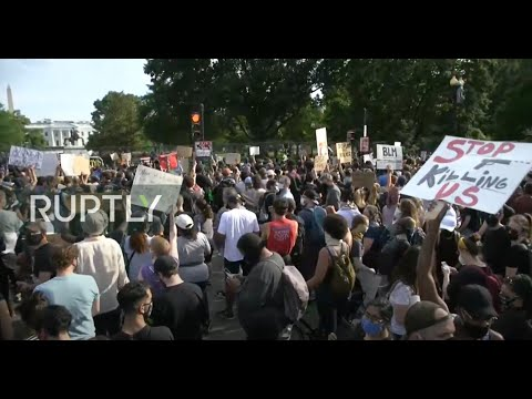 LIVE: Protests against police brutality continue in Washington, DC