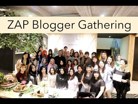 ZAP Blogger Gathering 2.0 | anjanidee - YouTube