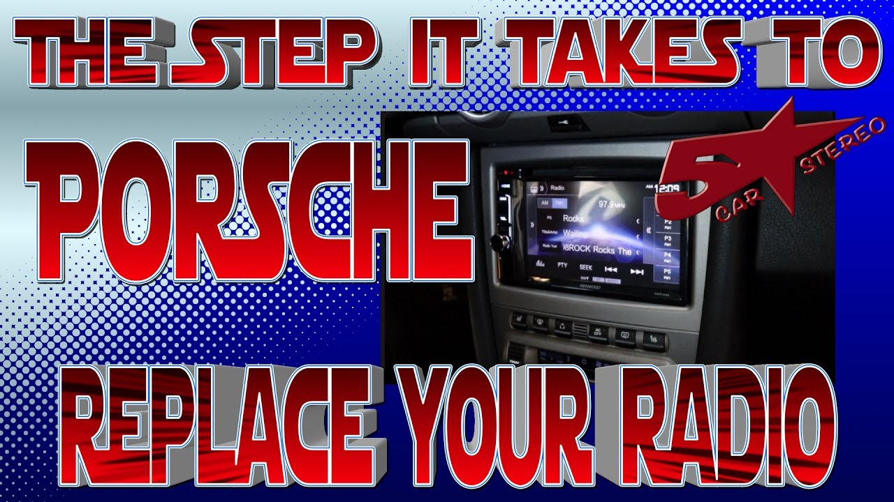 The Steps It Take To Replace Your Radio Porsche Youtube 1982 Bmw 320i 1 8 Engine Diagram