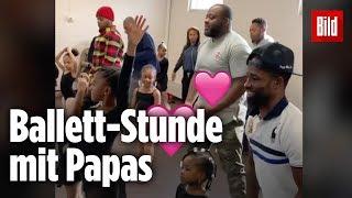 Süße Tanzstunde! Mit Vater-Tochter-Ballett gegen Vorurteile