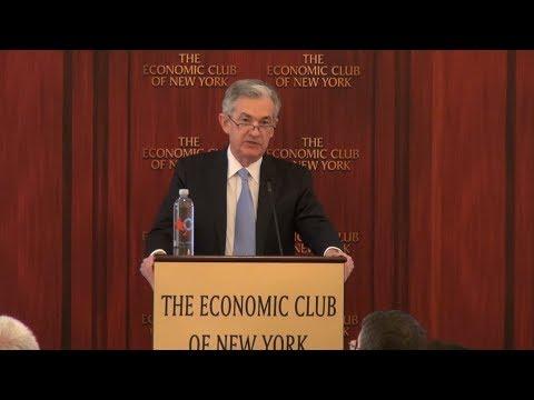 The Economic Club of New York Event - Jerome Powell