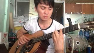 Tình khúc vàng _Đan Trường( guitar solo)