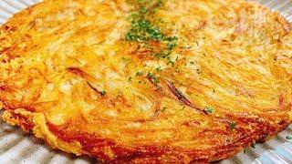 新じゃがとチーズのクリスピーガレット こっタソの自由気ままに【Kottaso Recipe】さんのレシピ書き起こし