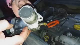 Čišćenje EGER ventila Zafire 2.0 2003.god. II.deo
